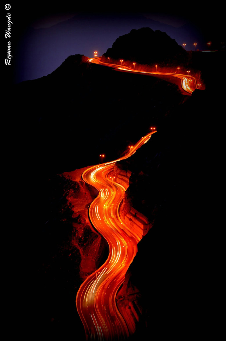 Photograph Road of fire... by Rizwan Wangde on 500px