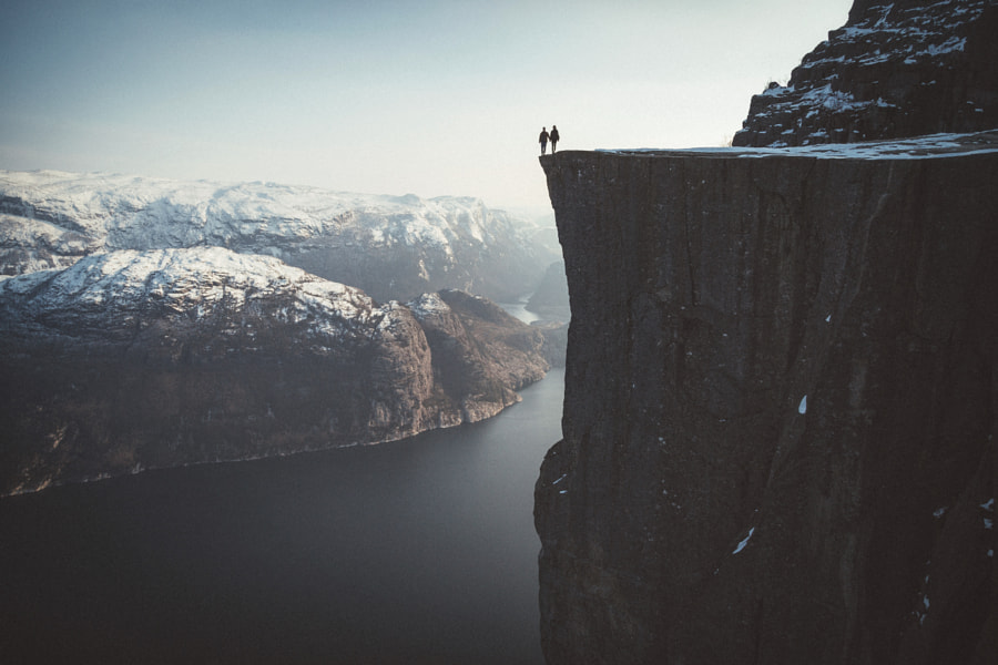 Standing on the edge. by Johannes Hulsch on 500px.com