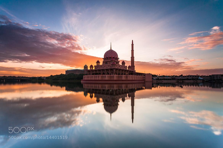 Photograph Putra Mosque: Sunrise by Hafidz Abdul Kadir on 500px