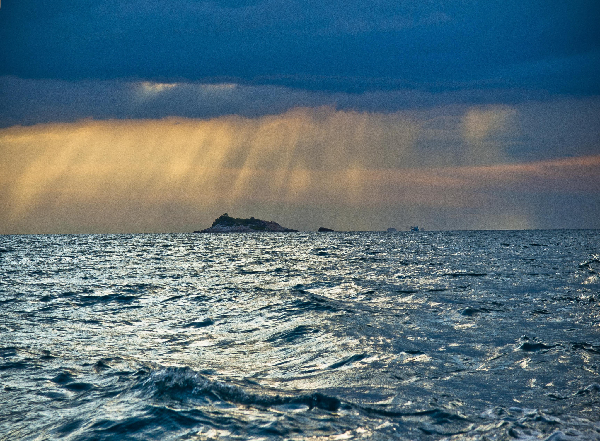 Photograph Island in the Storm by Nick de Domenico on 500px