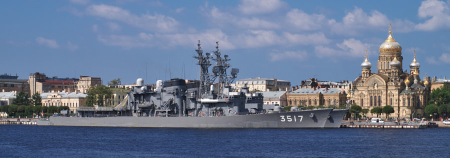 JMSDF visits Saint Petersburg, автор — Aleksey Koshin на 500px.com