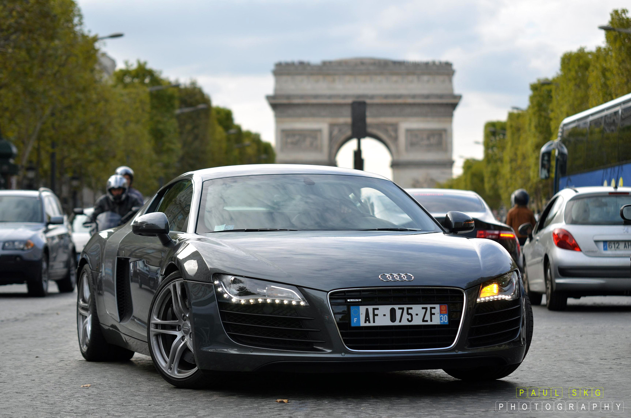 Photograph Champs Elysees by Paul SKG on 500px