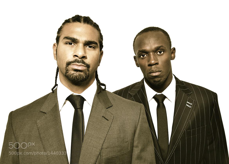 Photograph David Haye & Usain Bolt by Cressida  Jade on 500px