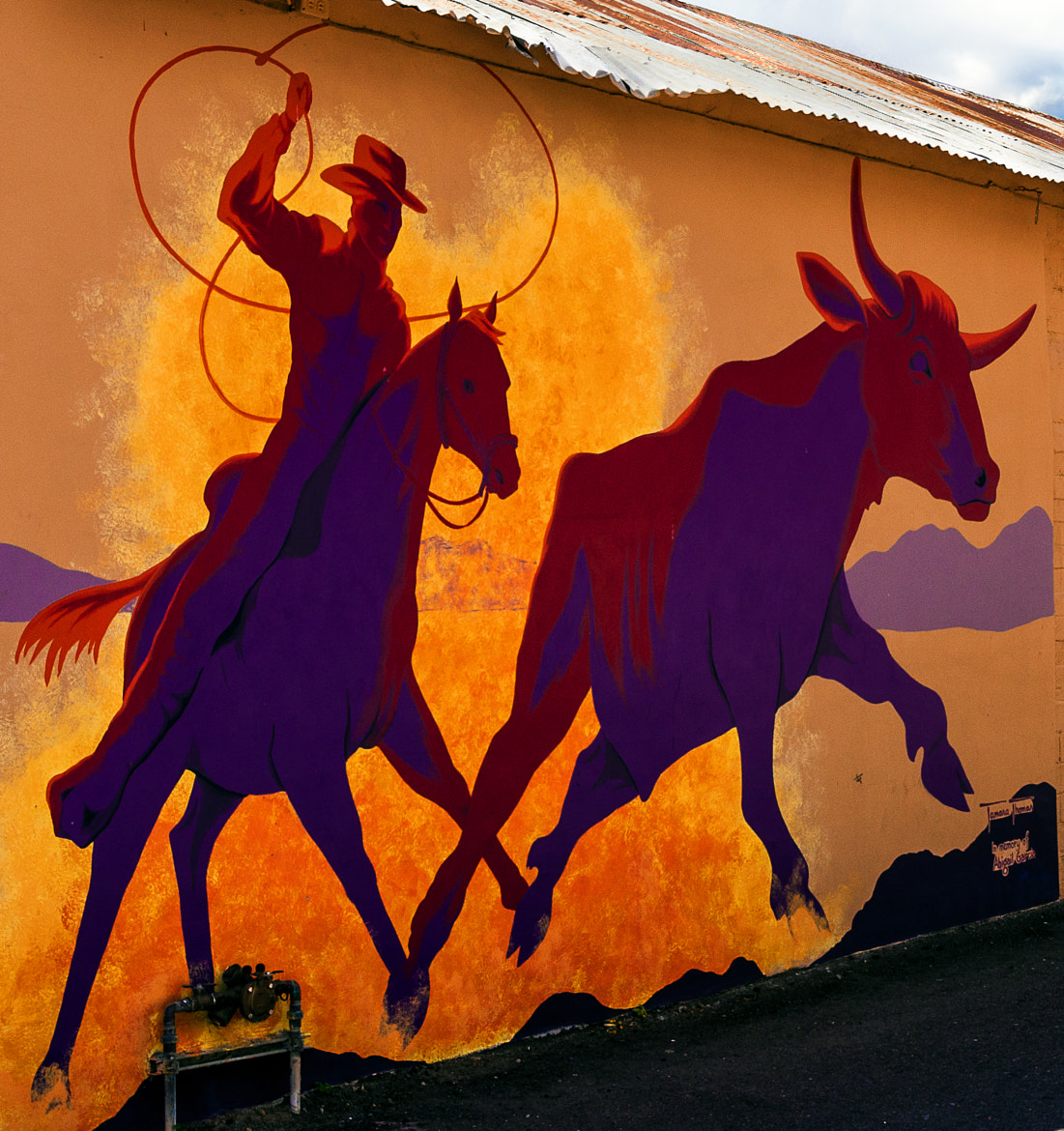 Photograph Wickenburg Mural by Bob Lehmenkuler on 500px