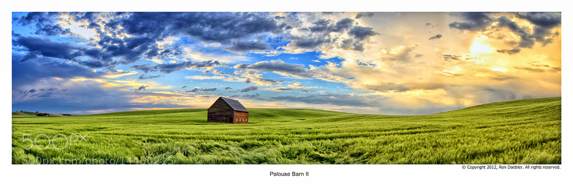 Photograph Palouse Barn- Genesee Idaho by Ron Doebler on 500px
