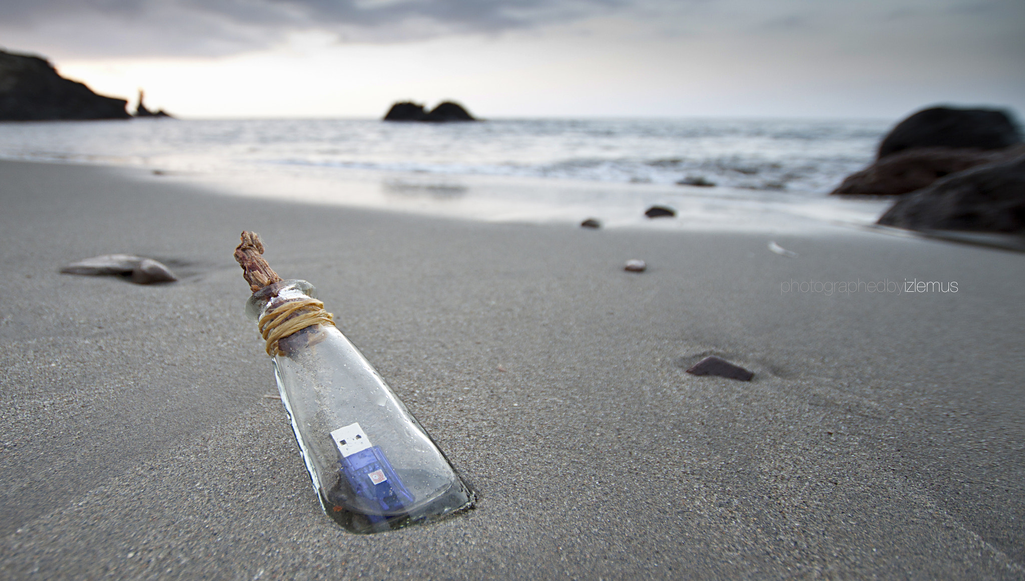 Photograph message in a bottle 3.0 by Diego Izquierdo on 500px
