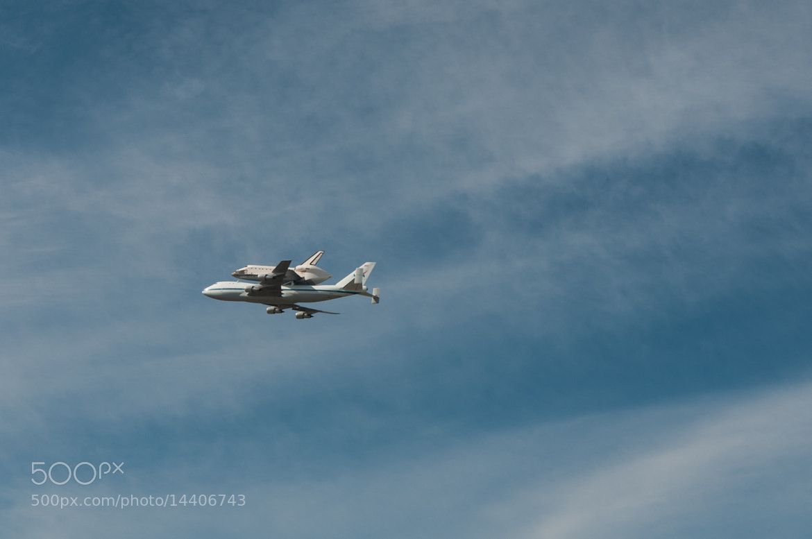 Photograph Saying Goodbye to Space Shuttle Endeavour by Frozen Canuck on 500px