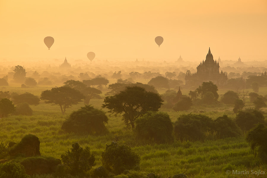 photo keywording -Bagan Balloons ~ Myanmar (Burma) by Martin Sojka on 500px.com