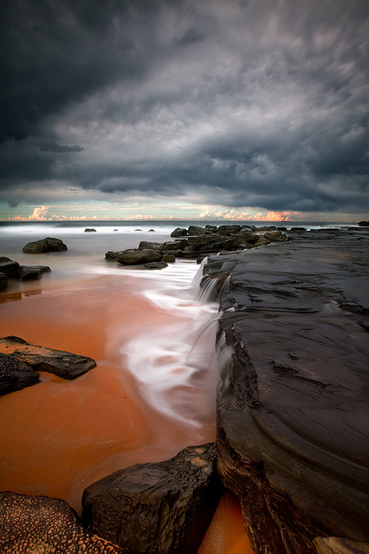 Photograph Forresters Beach, Central Coast, NSW by Matt Lauder on 500px