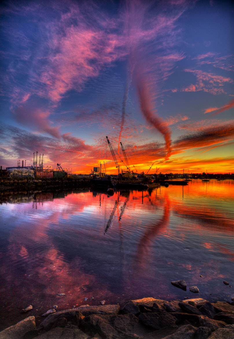 Photograph Streak Sunset 2 by Terry Letton on 500px