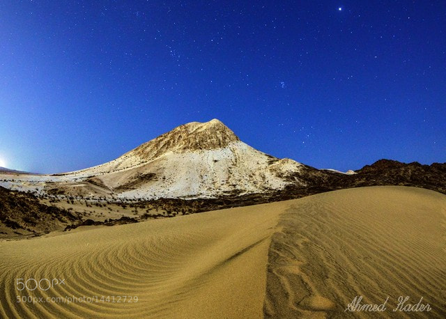 Photograph White Mountain by Ahmed Hader on 500px
