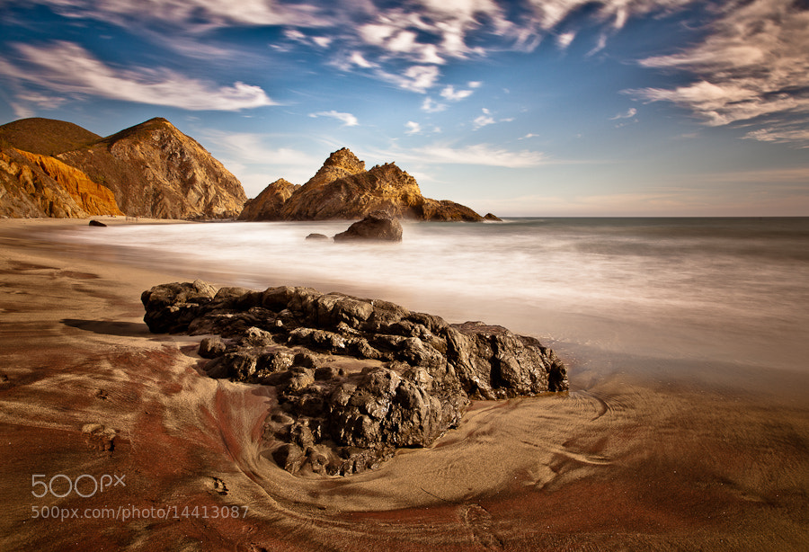 Purple Sands of Pfeiffer Beach (i) by Joseph Fronteras (Fronteras) on 500px.com
