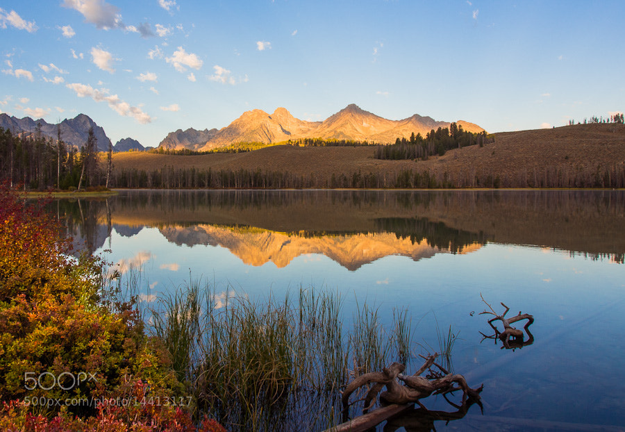 Photograph Little Red Fish Lake by Aaron English on 500px