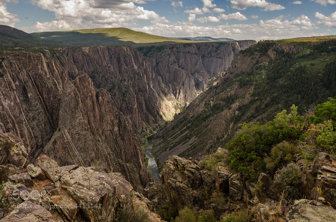 Photograph Black Gunnison Canyon by Alex Broytman on 500px