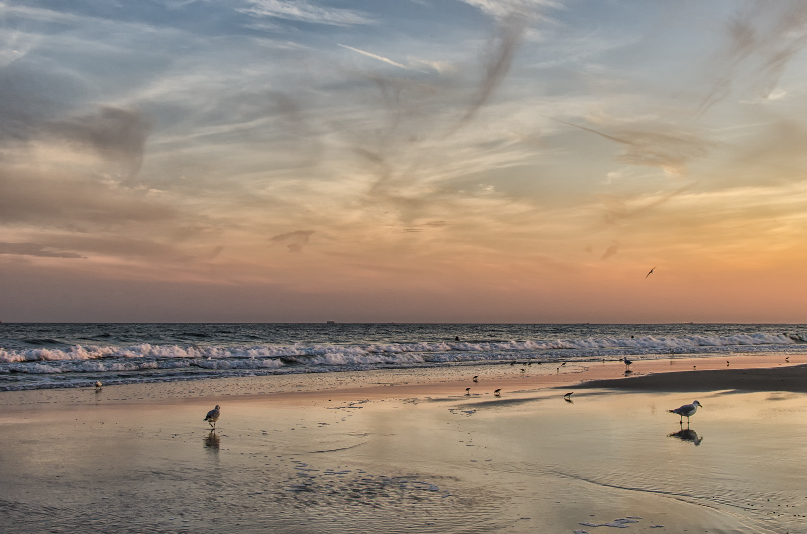 Photograph Sunset at the Beach by Alex Broytman on 500px