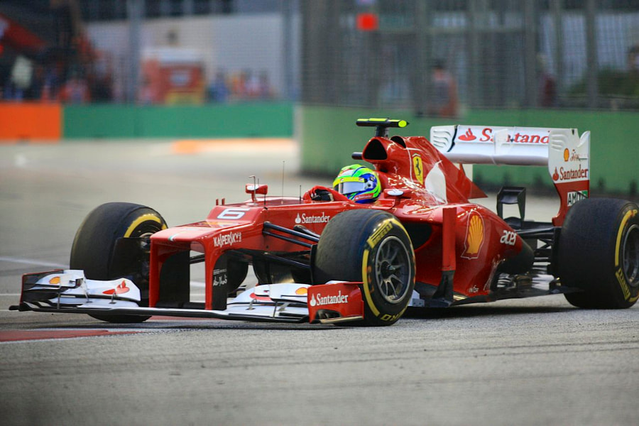 Felipe Massa of Ferrari
