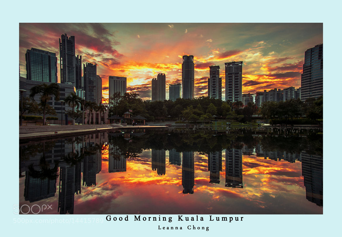 Photograph Good Morning KLCC  by leanna Chong on 500px