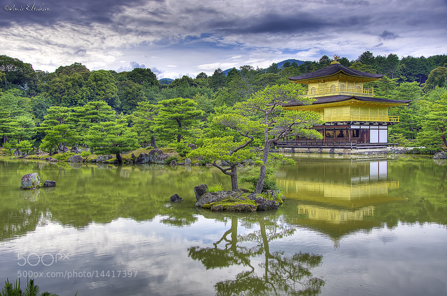 Photograph Kinkakuji - Golden Pavilion by Amir Eltahan on 500px