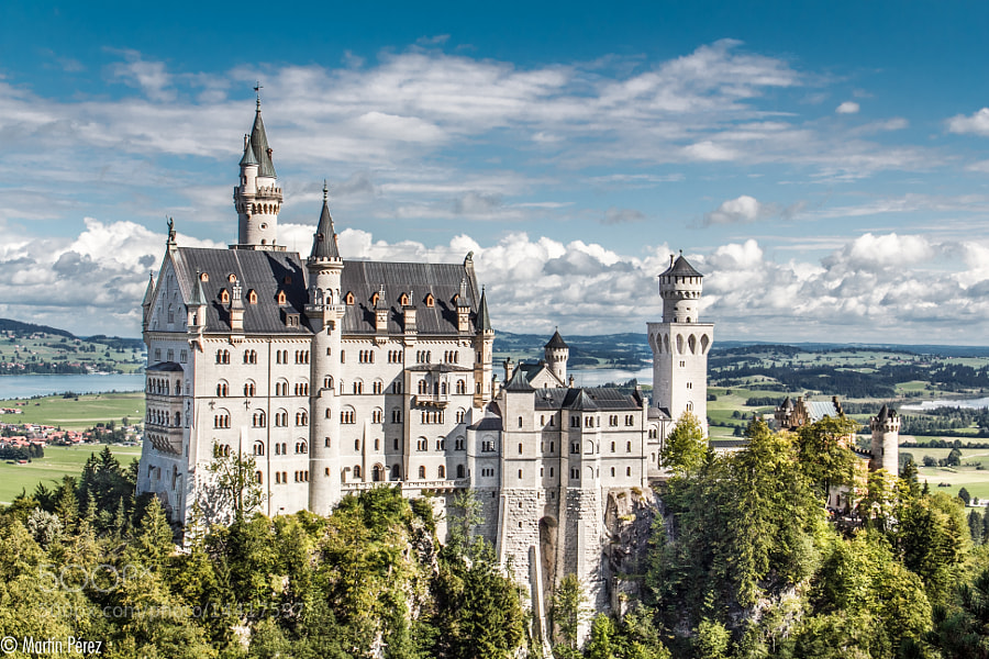 Neuschwanstein Castle (IV) by Martín Pérez (MartinPerez) on 500px.com