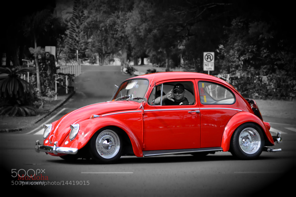 Photograph Hawaiian Stylin VW by Mo Aloha on 500px