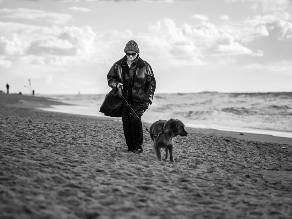 Photograph the lady with the dog // sylt, germany by Pamela Ross on 500px
