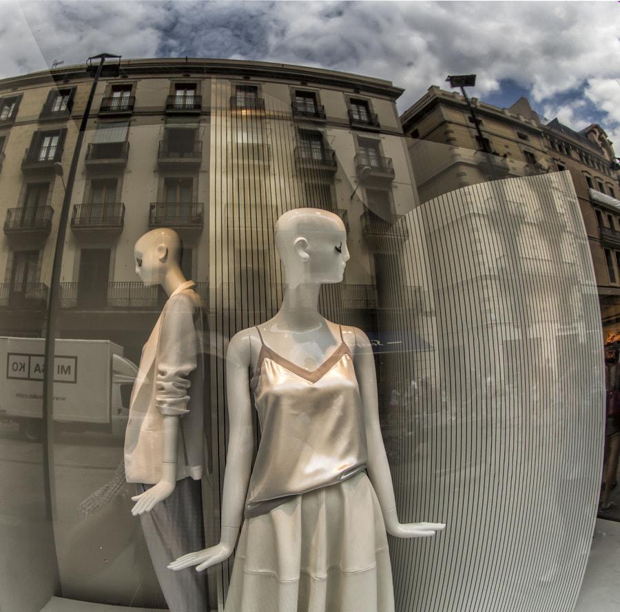 Shop window, Barcelona