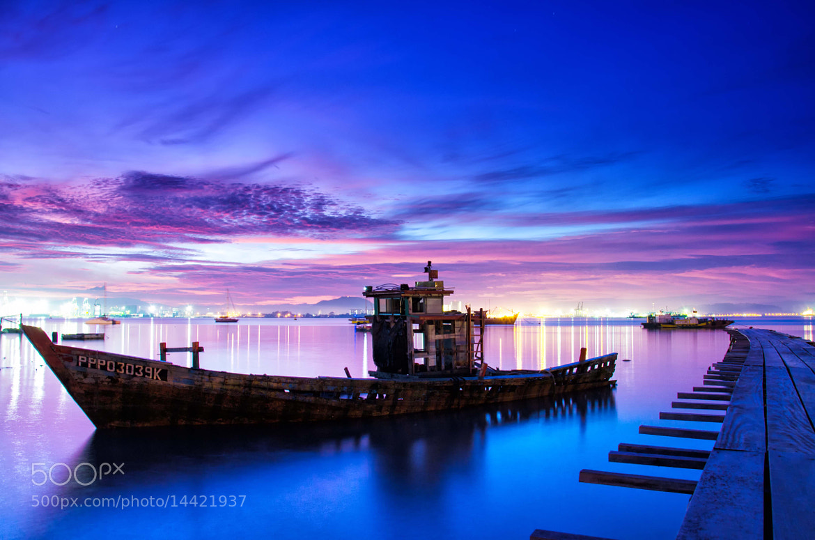 Photograph Dawn at Tan Jetty by CH Tan on 500px