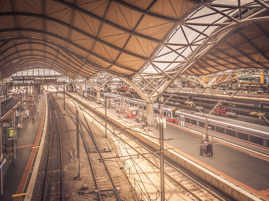 Southern Cross Train Station Melbourne Victoria Australia by Travis Chau on 500px.com