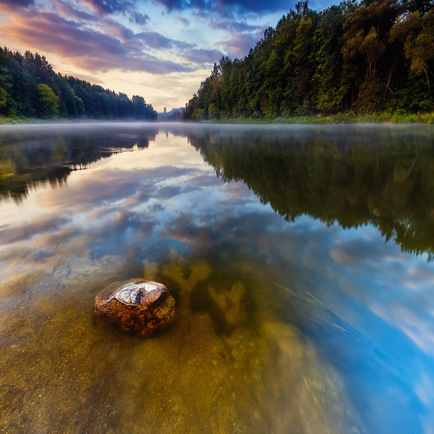 Photograph Morning river by Dainius Seven on 500px
