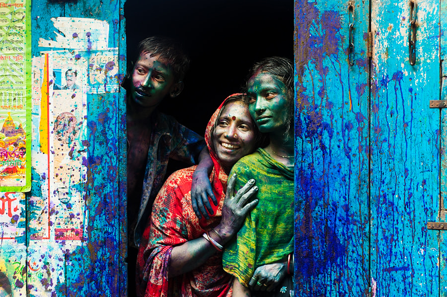 Photograph Holi Festival by Nikhil Bhattacharyya on 500px