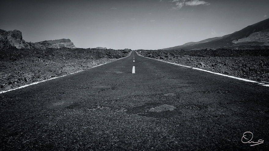 Photograph Volcano Road by Owen G on 500px