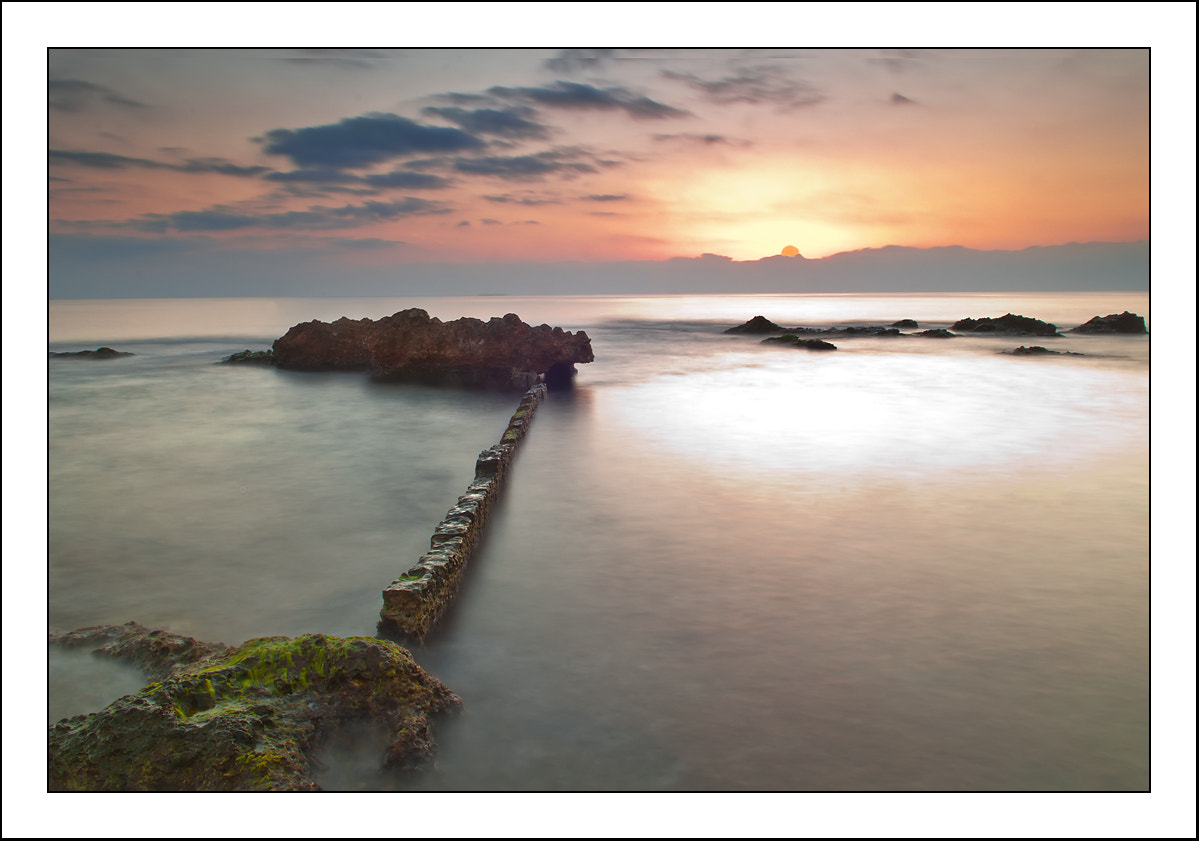 Photograph Sunset on the sea by Paco  Zaragoza on 500px