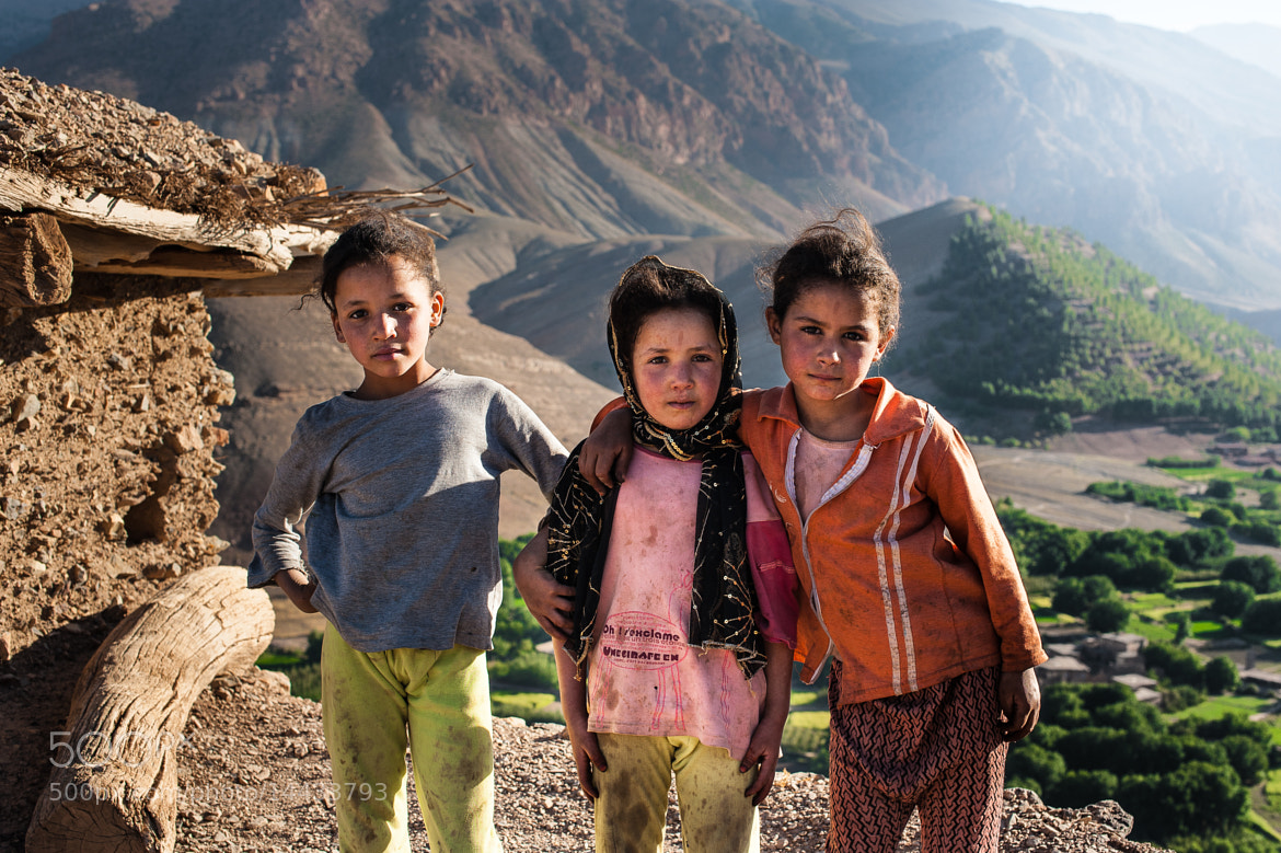 Photograph Kids in Ait Bougammaz by Martin Croce on 500px