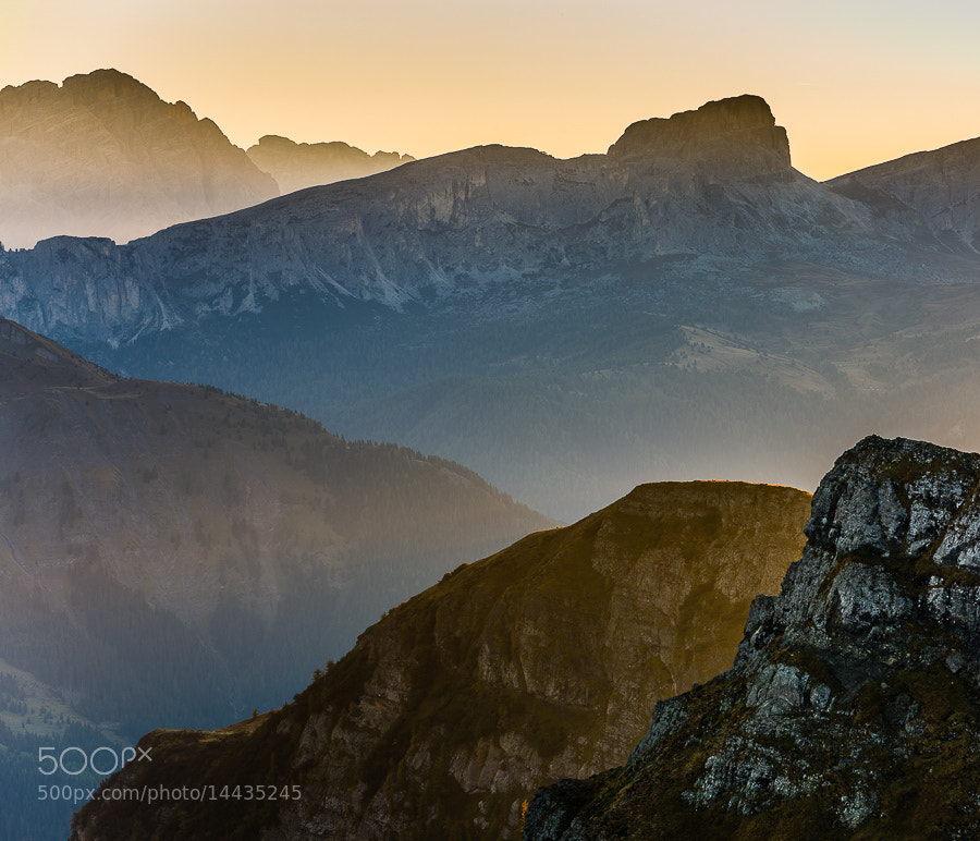 """<a href=""""http://www.hanskrusephotography.com/Workshops/Dolomites-Workshop-Oct-8-12-12/18012376_JfTs4d#!i=2104312382&k=3dNHX5L&lb=1&s=A"""">See a larger version here</a>  This photo was taken during a photo workshop in the Dolomites October 2011."""