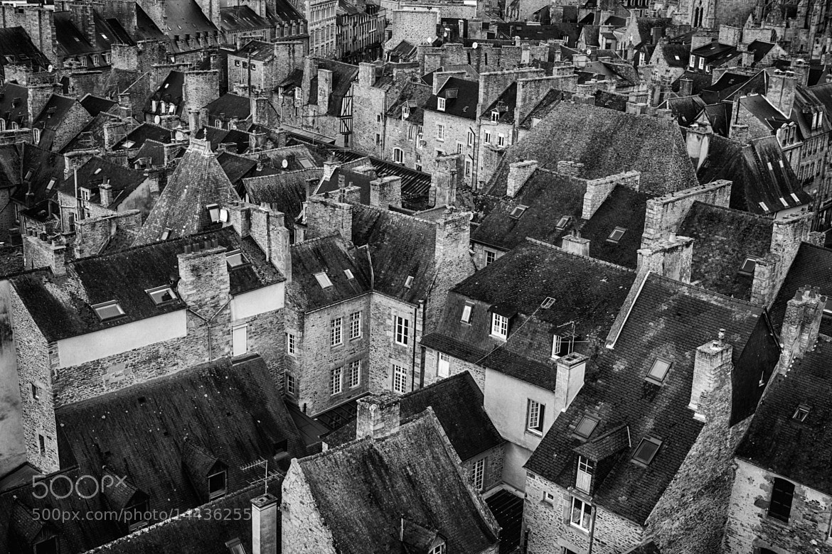 Photograph Medieval Rooftops - France by Frank van Haalen on 500px