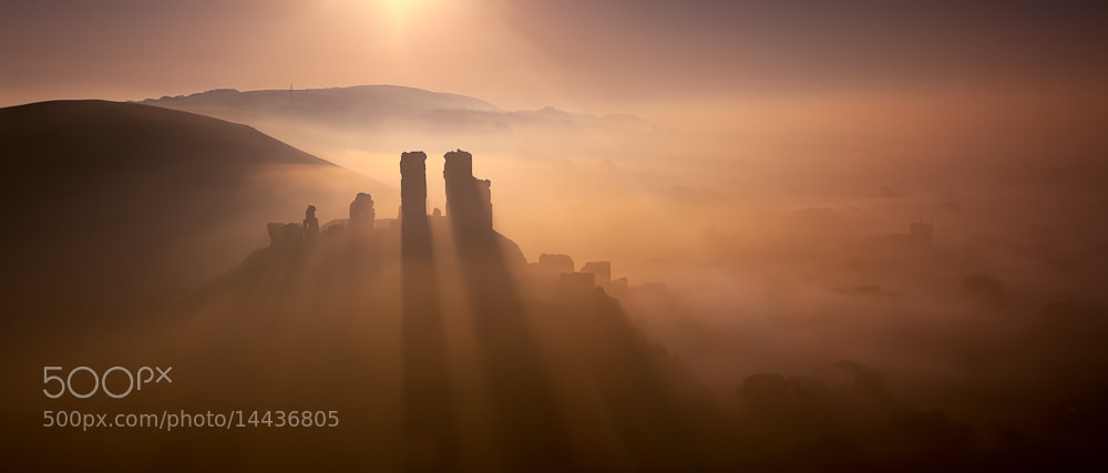 Photograph Corfe sunrise by Keith Burtonwood on 500px