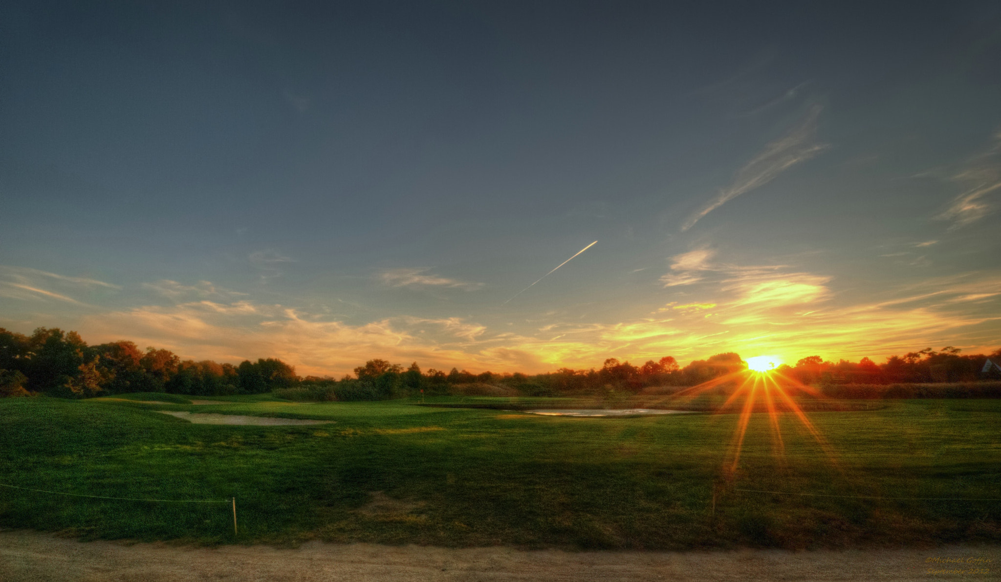 Photograph Golf course at Sunset by MICHAEL GOFFIN on 500px
