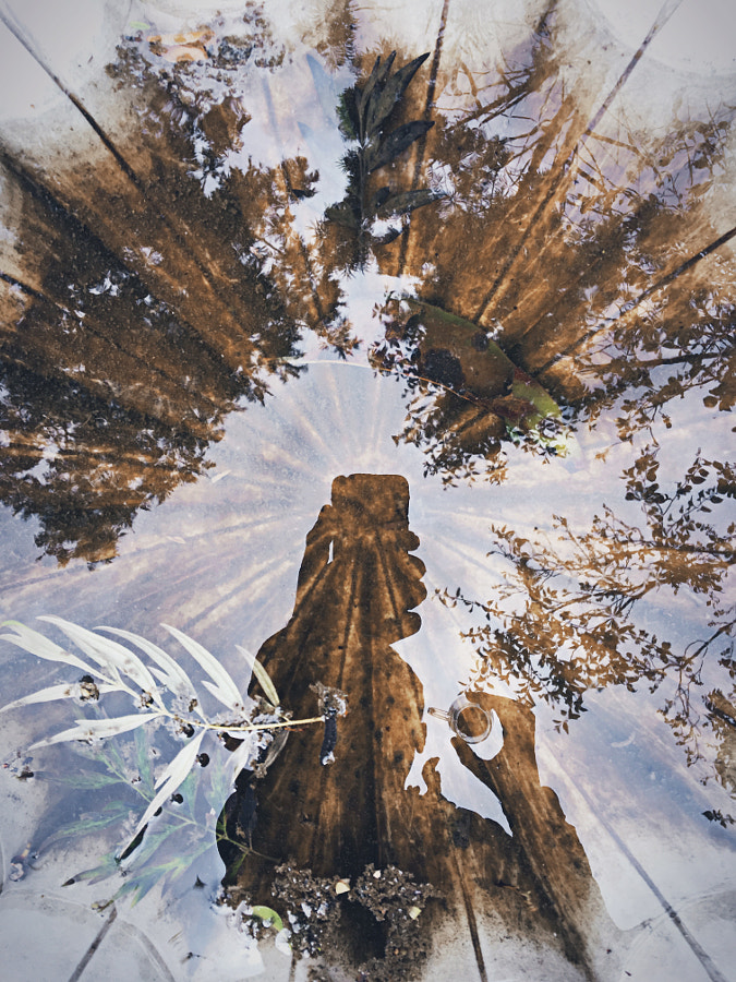 A double shot in double exposure