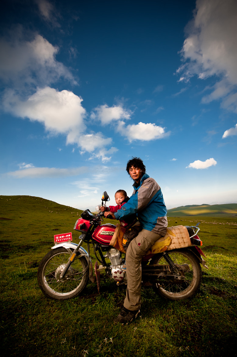 Photograph Grassland Motorcycle Daddy by Brian Hirschy on 500px