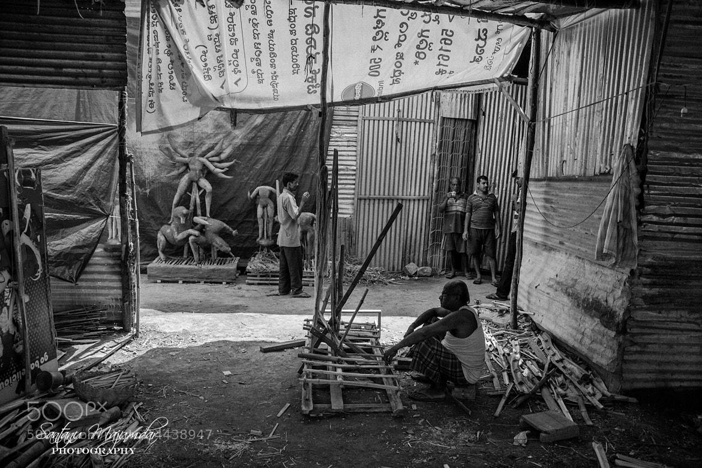 Photograph Kumortuli@Bangalore by Santanu Majumdar on 500px
