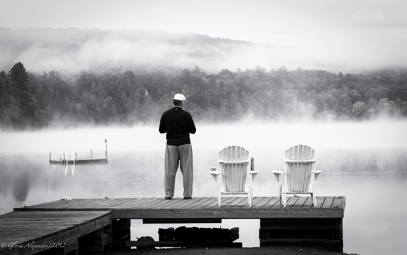 Photograph Fishing in the mist by Gloria Alexanders on 500px