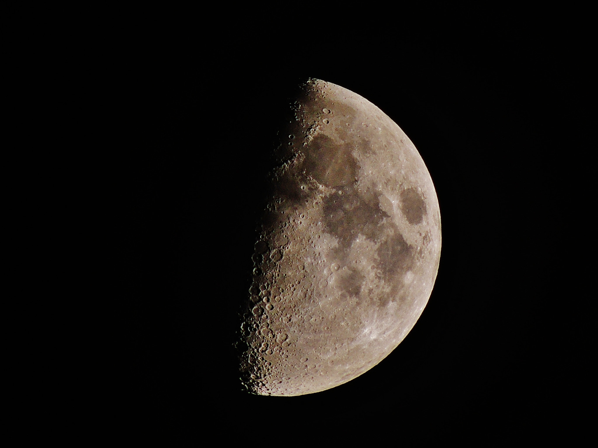Photograph Moon Hand held tonight. (23-09-2012) by Ravi S R on 500px