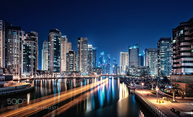 Photograph Speeding at Dubai Marina by Almer  Frades on 500px