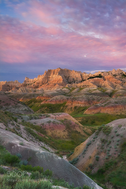 Photograph Badlands Sunrise by David Cobb on 500px