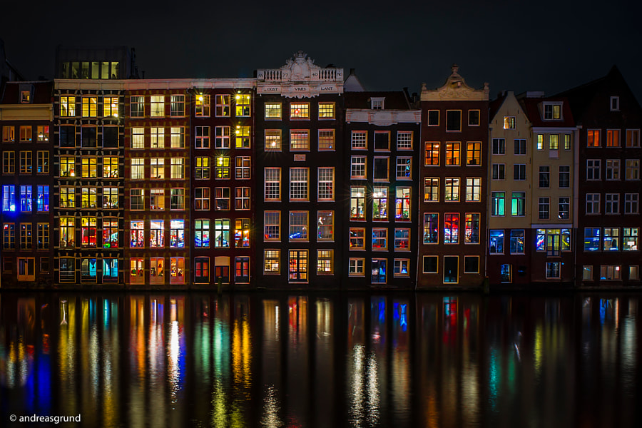 Damrak Amsterdam by Andreas Grund on 500px.com
