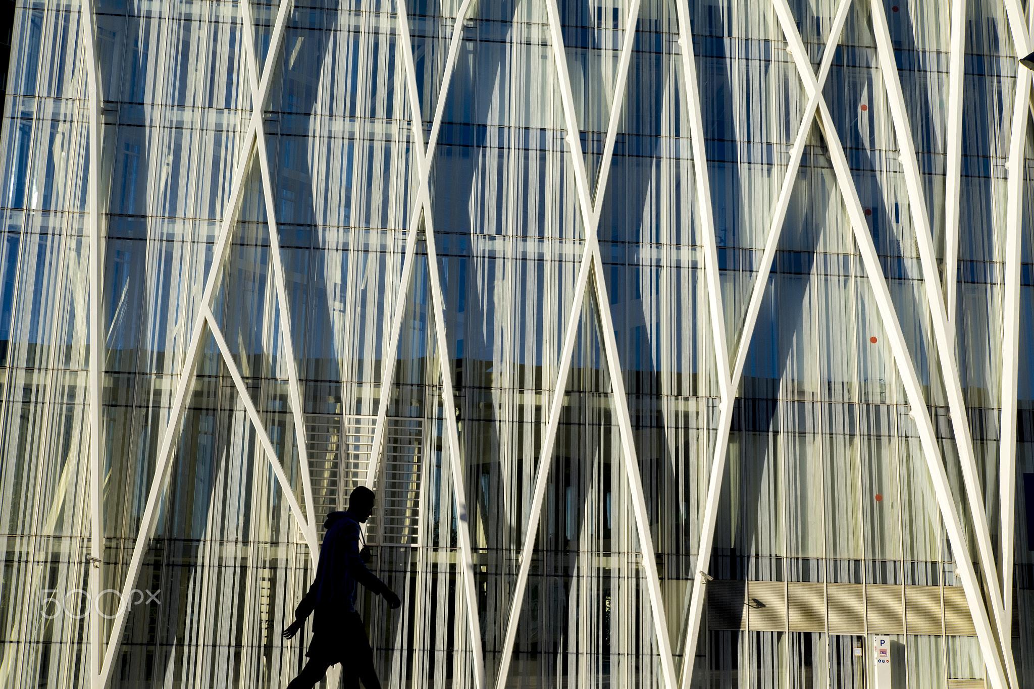Contemporary architecture in Barcelona