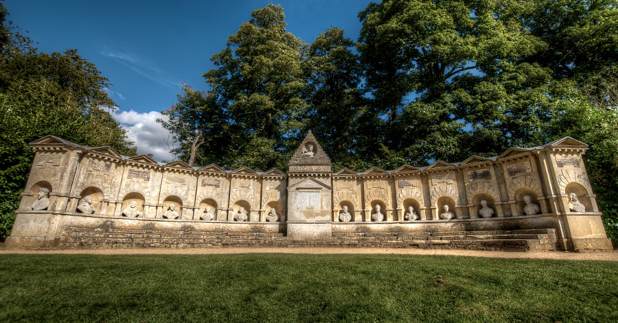 Temple of British Worthies, Stowe by Jase Wickham on 500px.com