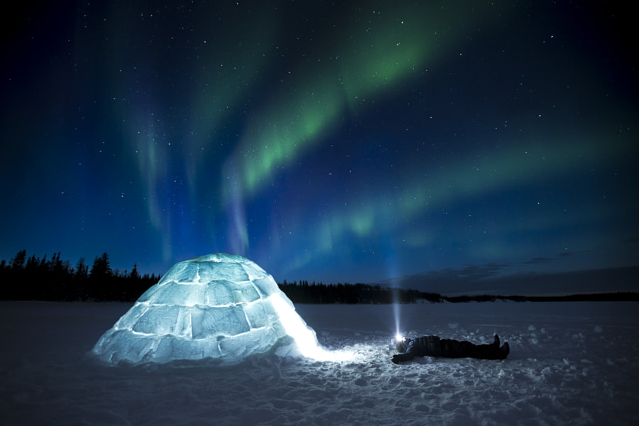 Home of the Aurora by Paul Zizka on 500px.com
