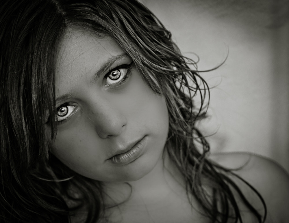 Photograph Innocence in Black and White by Christina Witham on 500px