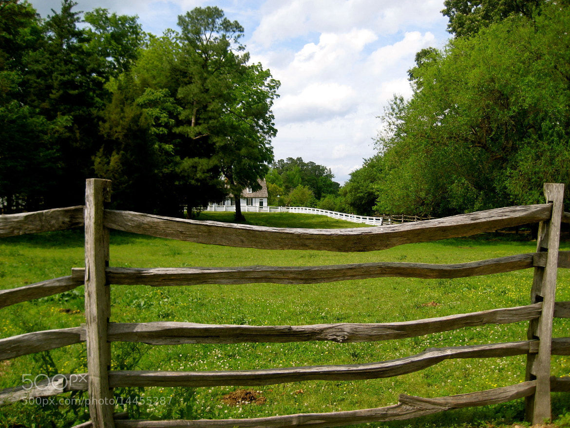 Photograph House beyond the fence. by Lori Conklin on 500px